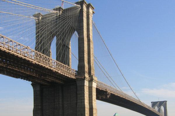 Brooklyn Bridge in New York, USA