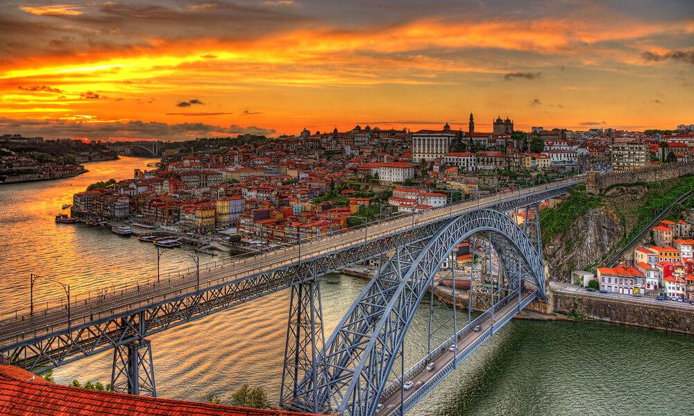 Dom Luis I in Porto, Portugal