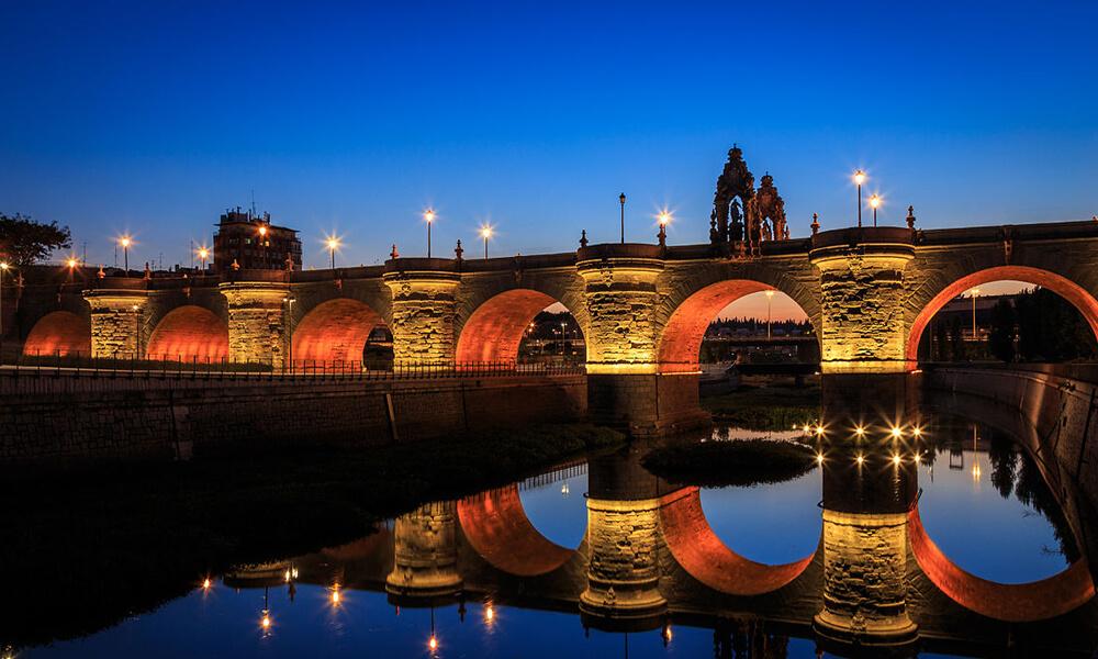 Puente de Toledo in Madrid, Spain